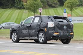 100 Blazer Truck SPIED Chevrolet Applies Name To Crossover Expected For 2019
