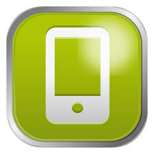 Green mobile icon Transparent PNG & SVG vector