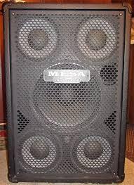 Mesa Boogie Cabinet Speakers by Sold Mesa Boogie Powerhouse Ph1000 Watt Bass Speaker Cabinet