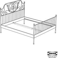 leirvik bed frame ikea leirvik bed frame king assembly