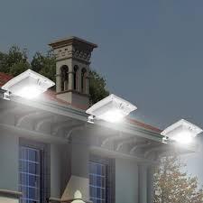 odbo solar light outdoor pir motion sensor light 200