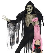 Scary Halloween Props For Haunted House by Life Size Animated Zombie Limbless Jim Horror Halloween Prop