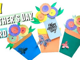 Easy Mothers Day Card Craft Activity For Kids