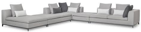 casa padrino luxus ecksofa grau schwarz 394 x 382 x h 88 cm edle wohnlandschaft luxus wohnzimmer möbel