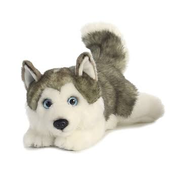Aurora 26263 World Miyoni Lying Husky Plush Toy