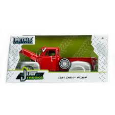 Just Trucks Series: 1951 Chevy Pick Up Truck (Red) 1/24 Scale