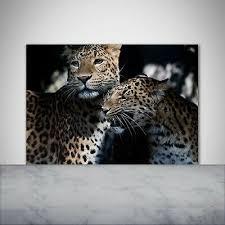 artissimo glasbild 80x30cmbild aus glas wandbild wohnzimmer