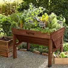raised garden beds planter boxes williams sonoma