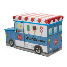 100 Icecream Truck Childrens Favorite Cartoon Storage StoolChair Ice Cream
