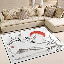 de jstel weich japanische sumi e teppiche für