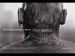 Tattoo Brand Harley Davidson