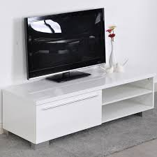 Aingoo Modern Tv Stand White Living Room Furniture Table Is Perfect For Ny Kind Of