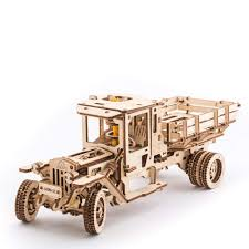 100 Truck Model Amazoncom UGEARS 3D Self Propelled Wooden UGM 11 Toys