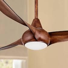 52 minka aire light wave distressed koa ceiling fan 4n706
