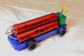 100 Pinewood Derby Trucks Minecraft TNT Dynamite Pinewood Derby Car Cars