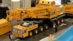 HUGE RC SCALE MODEL CRANE TRUCK FRANZ BRACHT KG DEMAG AC-1200 AT ...