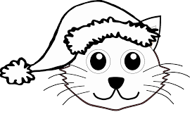 Christmas Kitten Coloring Pages Google Valid Fun Sheets New Cat