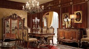 Cozy High End Dining Room Tables Alluring Furniture 4 Luxury 1446327 Table Centerpieces Sets