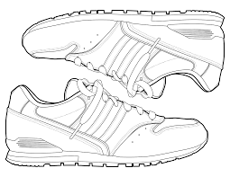 Download Coloring Pages Shoes Shoe Color Page