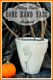 Pottery Barn Inspired Bone Hand Skeleton Vase. | The V Spot Tween Dreams A Black Blush Bedroom Makeover Thejsetfamily Pumpkinrotcom Whats Brewing Official Pottery Barn Halloween 2010 Best 25 Barn Halloween Ideas On Pinterest Witch Party Inspired Console Table Addicted 2 Diy Fiesta Friday Barns Spooky Party Revel And New Walking Dead Skeleton Bath Ice Drink Bucket Bpacks Bags 57882 Kids Boys Small Mackenzie Desk Chair Polka Dot Teen Painted Archives Bedding Tags Skull Decor Lavender Walls