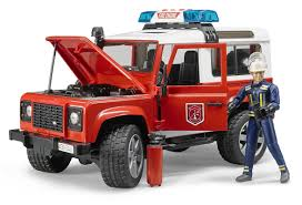 Bruder: Land Rover Fire Vehicle | Toy | At Mighty Ape NZ Bruder Mack Granite Fire Engine With Slewing Ladder Water Pump Toys Cullens Babyland Pyland Man Tga Crane Truck Lights And So Buy Mack Tank 02827 Toy W Ladder Scania R Serie L S Module Laddwater Pumplightssounds 3675 Mb Across Bruder Toys Sound Youtube Land Rover Vehicle At Mighty Ape Nz Arocs With Light 03670 116th By