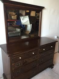 Ethan Allen Dark Pine Roll Top Desk by Route 66 Furniture Dark Pine 10 Drawer Ethan Allen Dresser