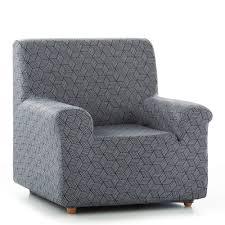 housse de canapé grise housse fauteuil canapé extensible matarit blancheporte