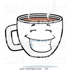 Happy Coffee Clip Art