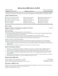 Example Of A Functional Resume Sample Format Examples