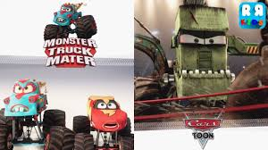 Cars: Monster Truck Mater - IOS | Disney Storybook - YouTube