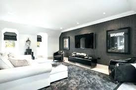 Dining Room Wallpaper Accent Wall Living Gray House Contemporary