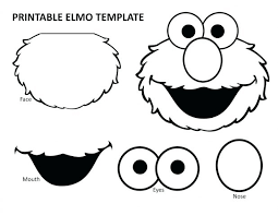 Free Elmo Printables Coloring Pages Sesame Street Colouring Richly Blessed Emery Turns Birthday Full