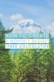 Sinking Fund Annuity Calculator by Best 25 Monthly Budget Calculator Ideas On Pinterest Budget