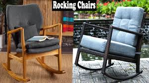 Outdoor Modern Rocking Chair Design | That Look Cool And Stylish Whosale Rocking Chairs Living Room Fniture Set Of 2 Wood Chair Porch Rocker Indoor Outdoor Hcom Traditional Slat For Patio White Modern Interesting Large With Cushion Festnight Stille Scdinavian Designs Lovely For Nursery Home Antique Box Tv In Living Room Of Wooden House With Rattan Rocking Wooden Chair Next To Table Interior Make Outside Ideas Regarding Deck Garden Backyard