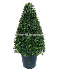 Outdoor Artificial Cedar Spiral Topiary Outdoor Silk Topiary