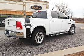 100 Truck Bed Decals Amazoncom Any Black Rear Side Batman Logo Off