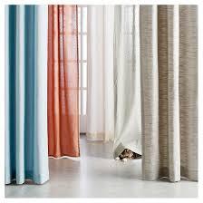 Target Threshold Window Curtains by Diamond Weave Window Curtain Panel Radiant Gray 54