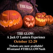 Pumpkin Patch Nashville Area by The Glow A Jack O U0027lantern Experience Fontanel