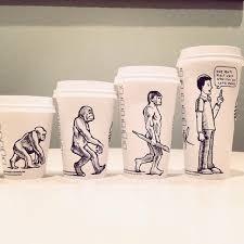 Comics Starbucks Coffee Cup Art Yoyoha Coverimage