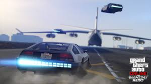Grand Theft Auto Online Now Has A Flying DeLorean Lookalike | Top Speed