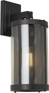 feiss bluffton outdoor wall light rubbed bronze ol12001orb