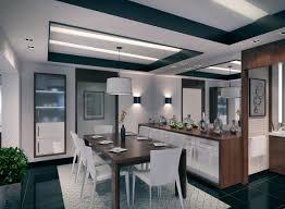 Contemporary Apartment Dining Room Interior Design Ideas