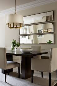 Contemporary Especially Treatment Mirror Great Option Ideas For Small Dining Rooms Decoration Those Wanting Loft This