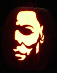 Myers Pumpkin Patch Facebook by Here Is Michael Myers I Carved On A Foam Pumpkin Pattern By