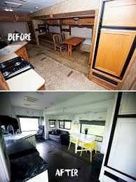 Fifth Wheel RV Remodel Before And After