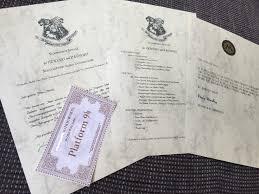 Brief Hogwarts Text Deutsch