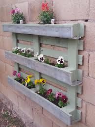 Flower Pallet Planter Box