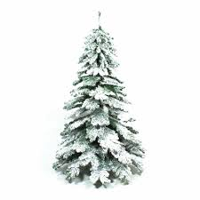 Balsam Christmas Trees Uk by 7ft Snow Covered Artificial Christmas Tree Artificial Xmas Trees