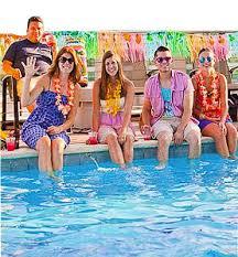 Host A Luau Pool Party