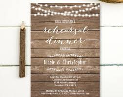 Rustic Rehearsal Dinner Invitations Is One Of Best Ideas Which Can